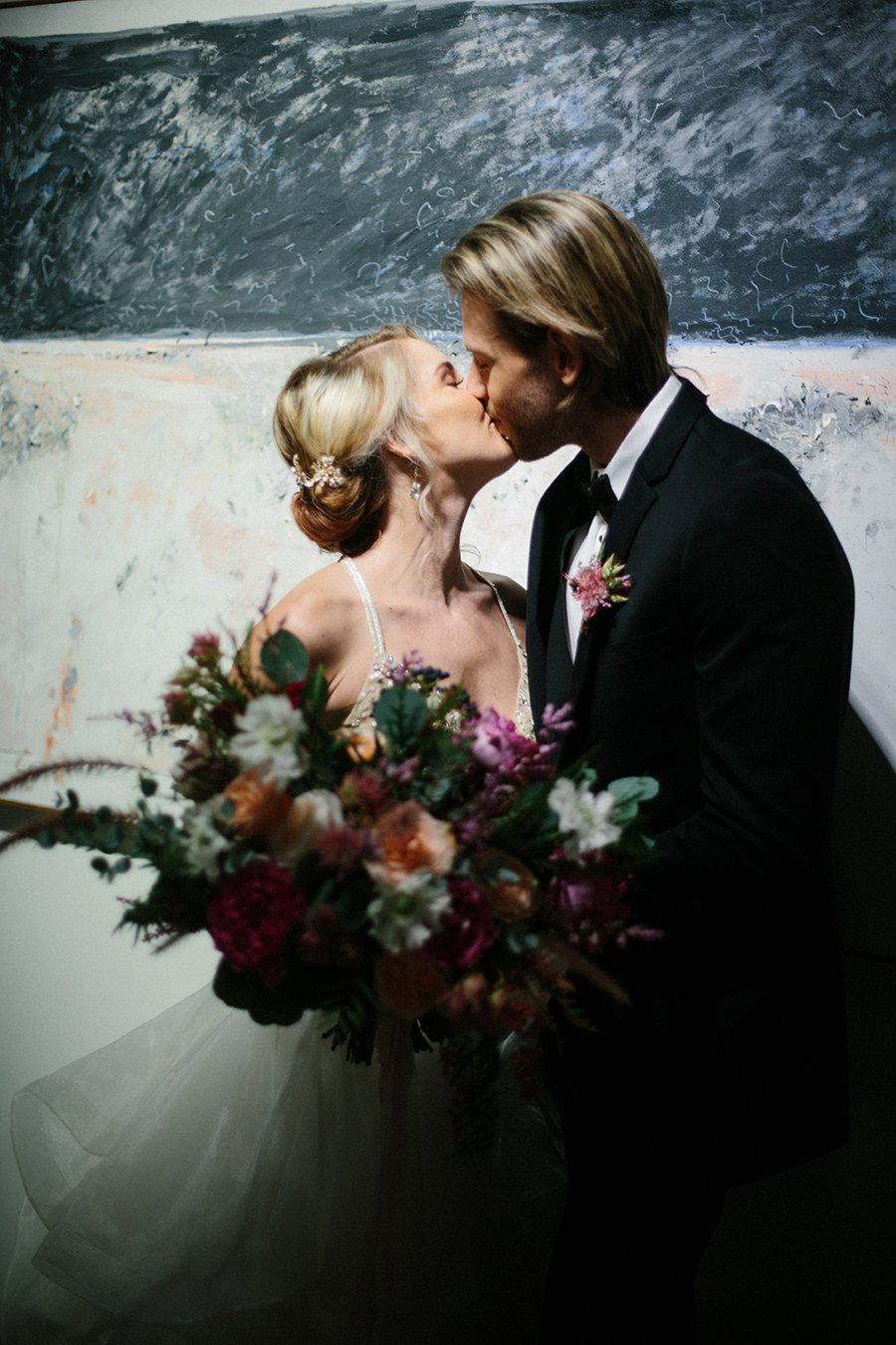 Pink Modern Elegant Wedding Ideas via TheELD.com
