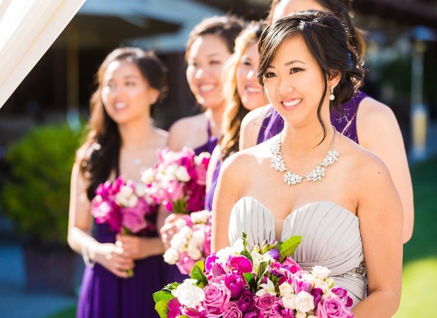 A Modern & Elegant Purple California Wedding via TheELD.com