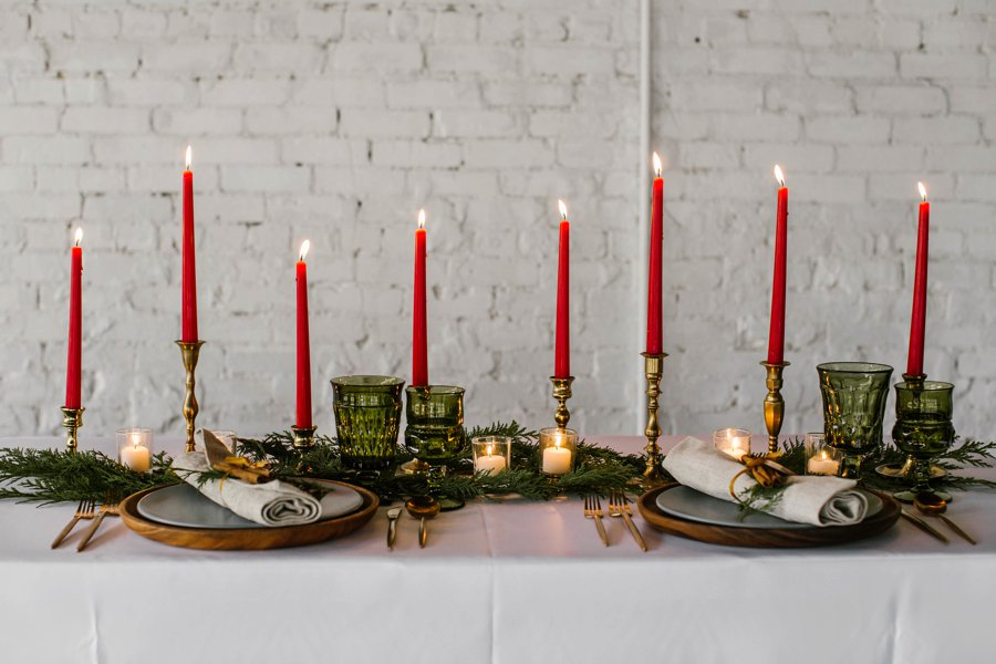 12 Days of Christmas Tabletops: 11 Pipers Piping via TheELD.com