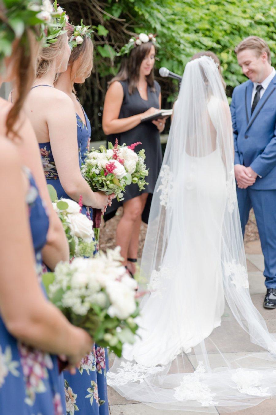 A Summer Red & Blue Rustic Boho Hudson Valley Wedding via TheELD.com