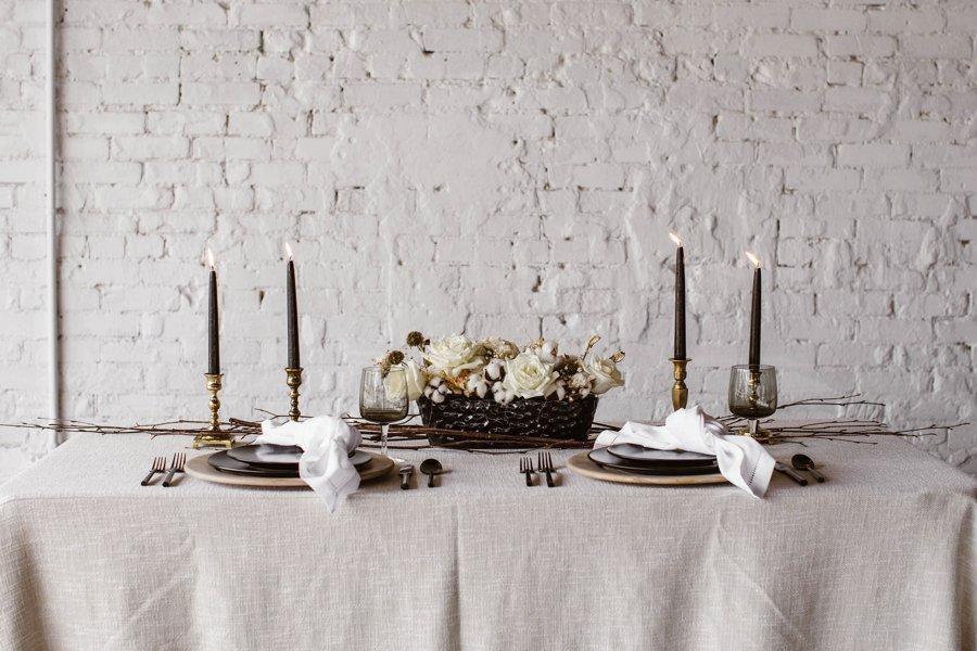 12 Days of Christmas Tabletops: 8 Maids a Milking via TheELD.com