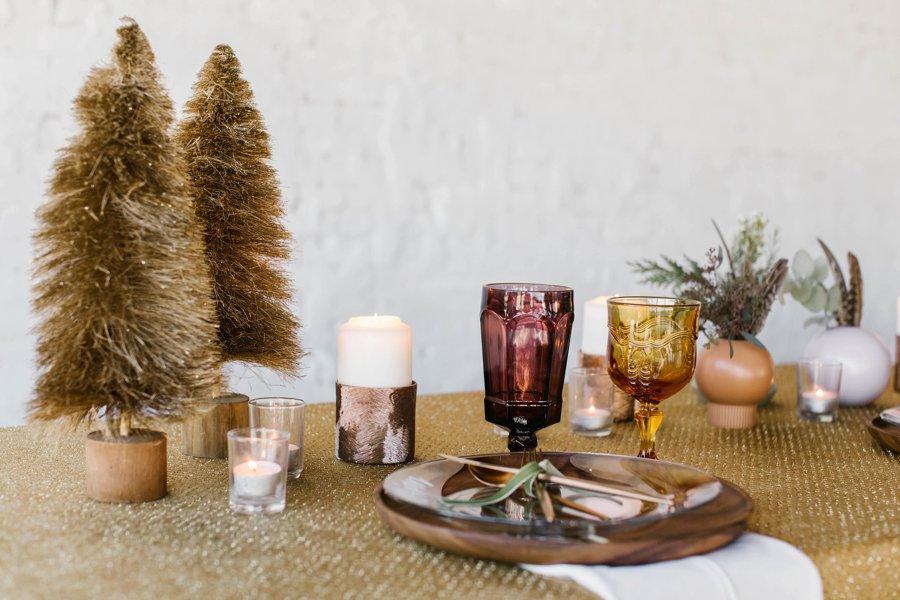 12 Days of Christmas Tabletops: 4 Calling Birds via TheELD.com