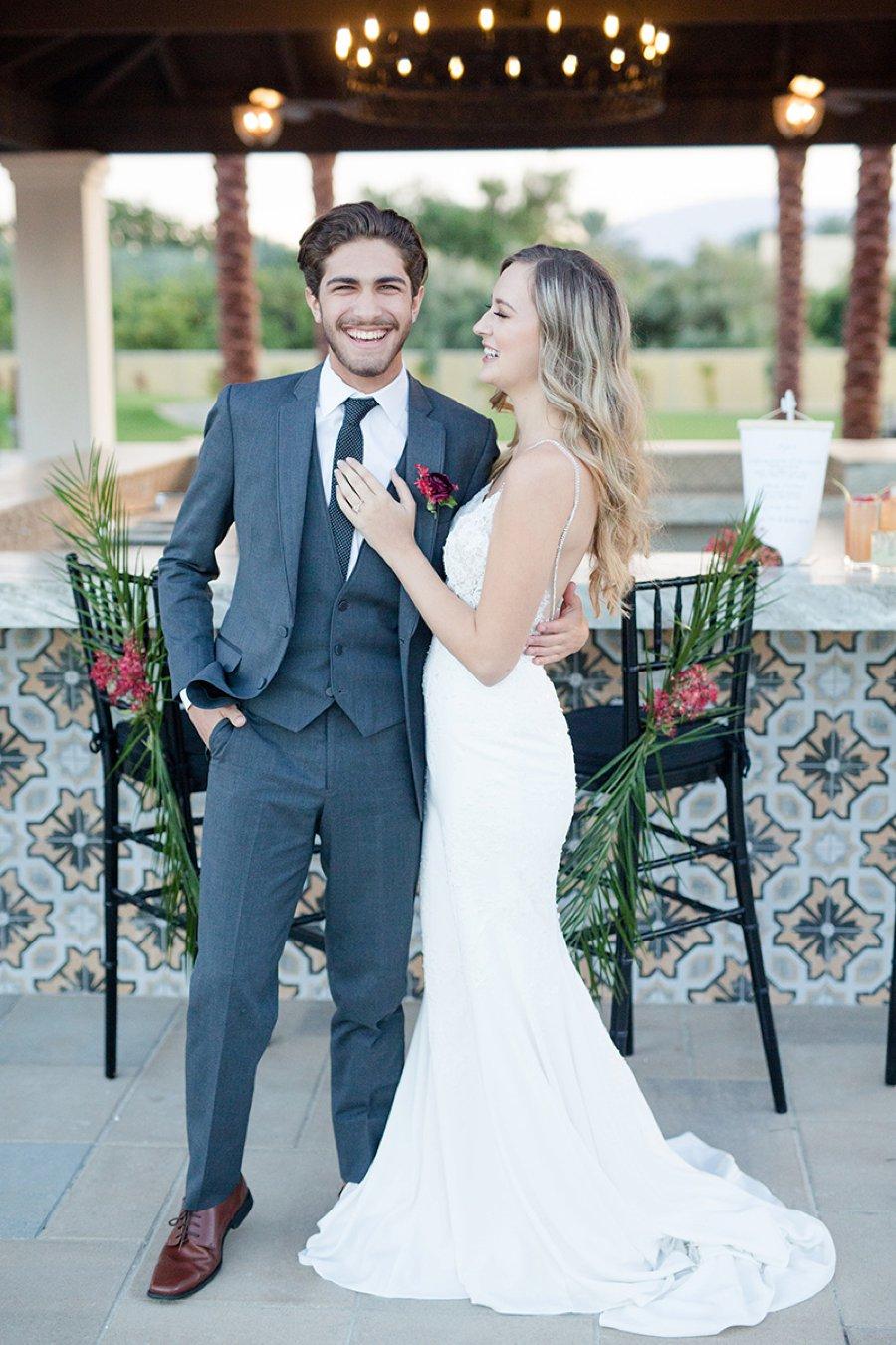 Colorful & Elegant Spanish Inspired California Wedding Ideas via TheELD.com