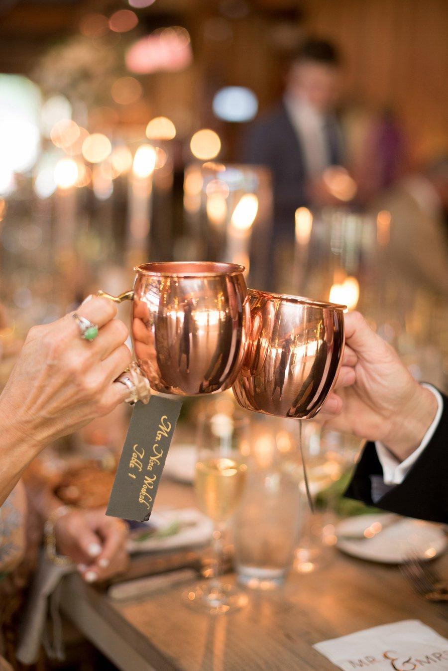 A Romantic Blush & Gold Spring North Carolina Wedding via TheELD.com