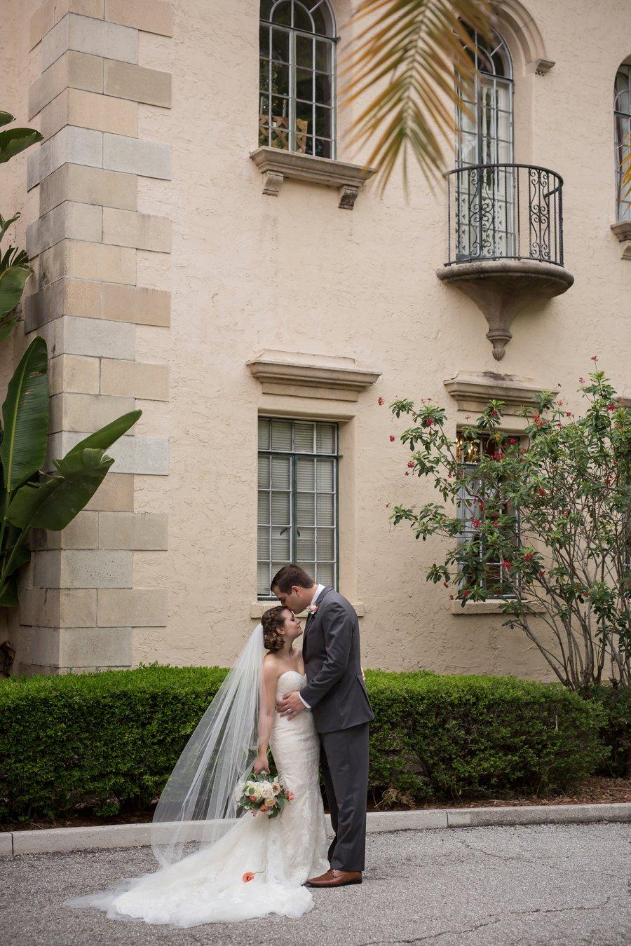 A Classic Blush & Gold Tented Sarasota Wedding Day via TheELD.com