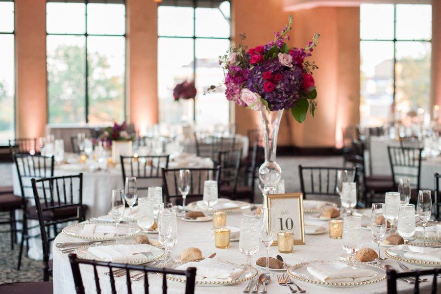 A Spring Jewel Toned Central Florida Wedding via TheELD.com
