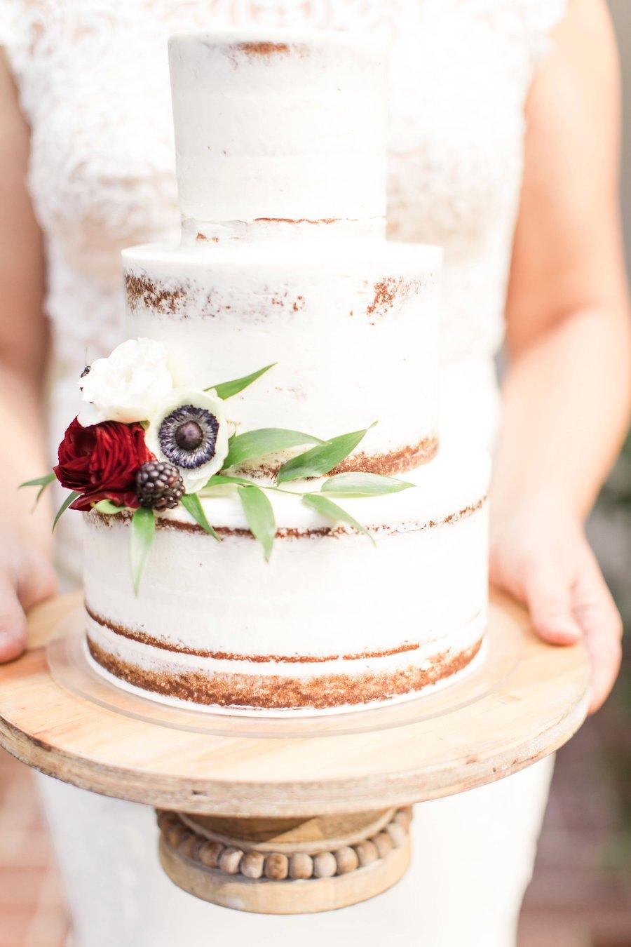 Romantic Pink & Red Elegant Garden Wedding Ideas via TheELD.com