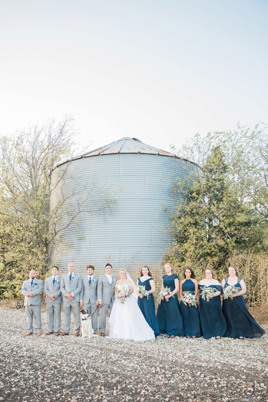 An Eclectic, Rustic Pink & Blue Texas Wedding Day via TheELD.com