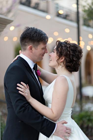 An Elegant Fuchsia Winter Park Wedding via TheELD.com