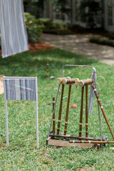 Blue & Blush Chambray Inspired Wedding Ideas via TheELD.com