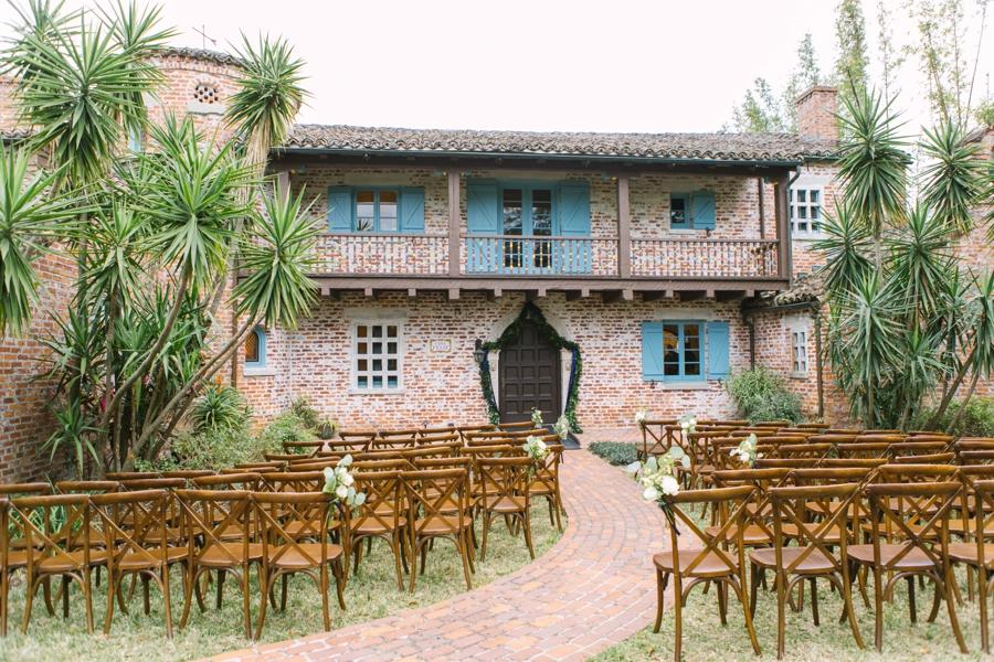 A Navy Garden Inspired Winter Park Wedding via TheELD.com