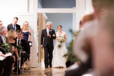 An Elegant Blush Pensacola Wedding via TheELD.com