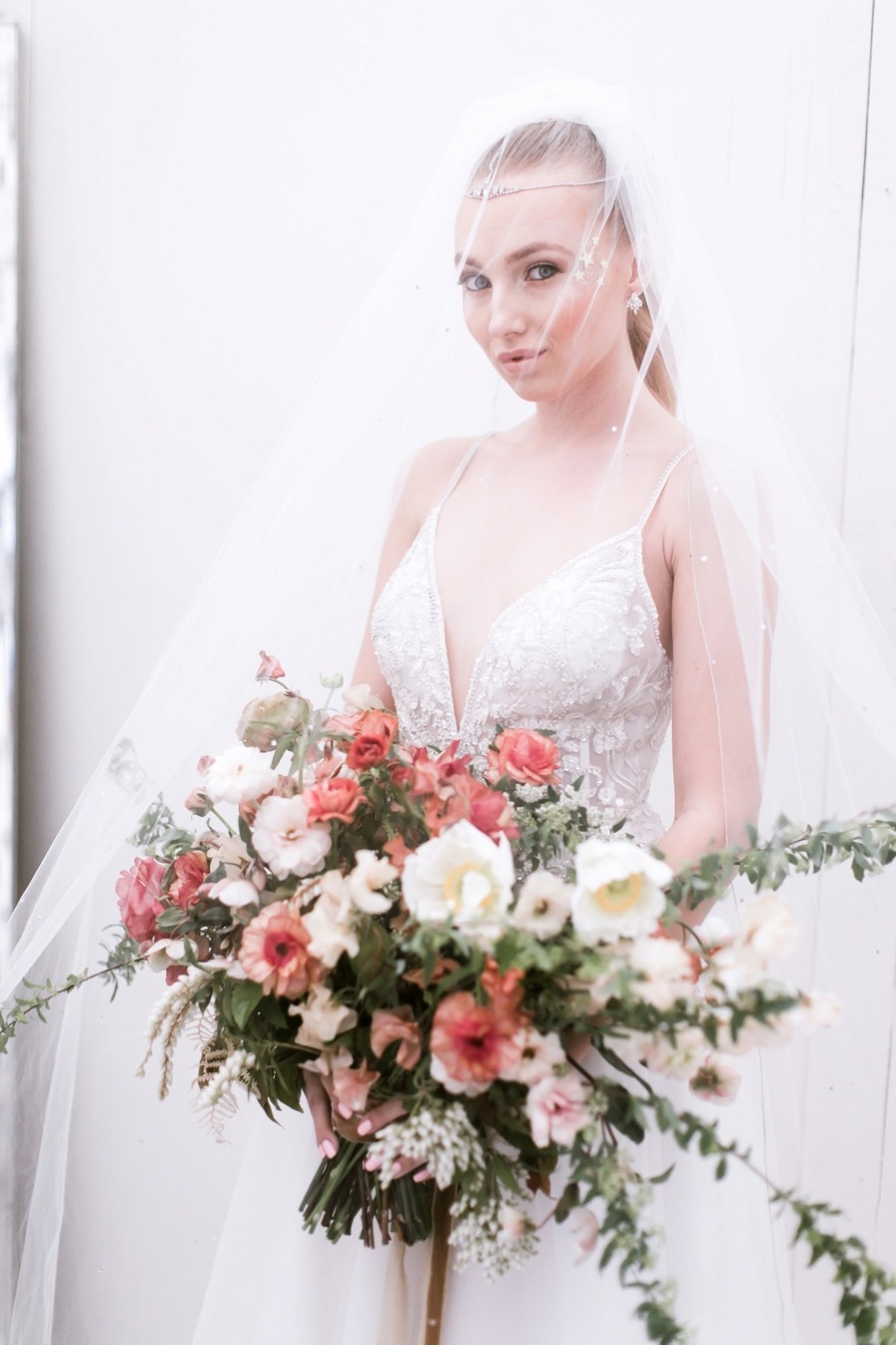 Chic Celestial Inspired Wedding Ideas via TheELD.com