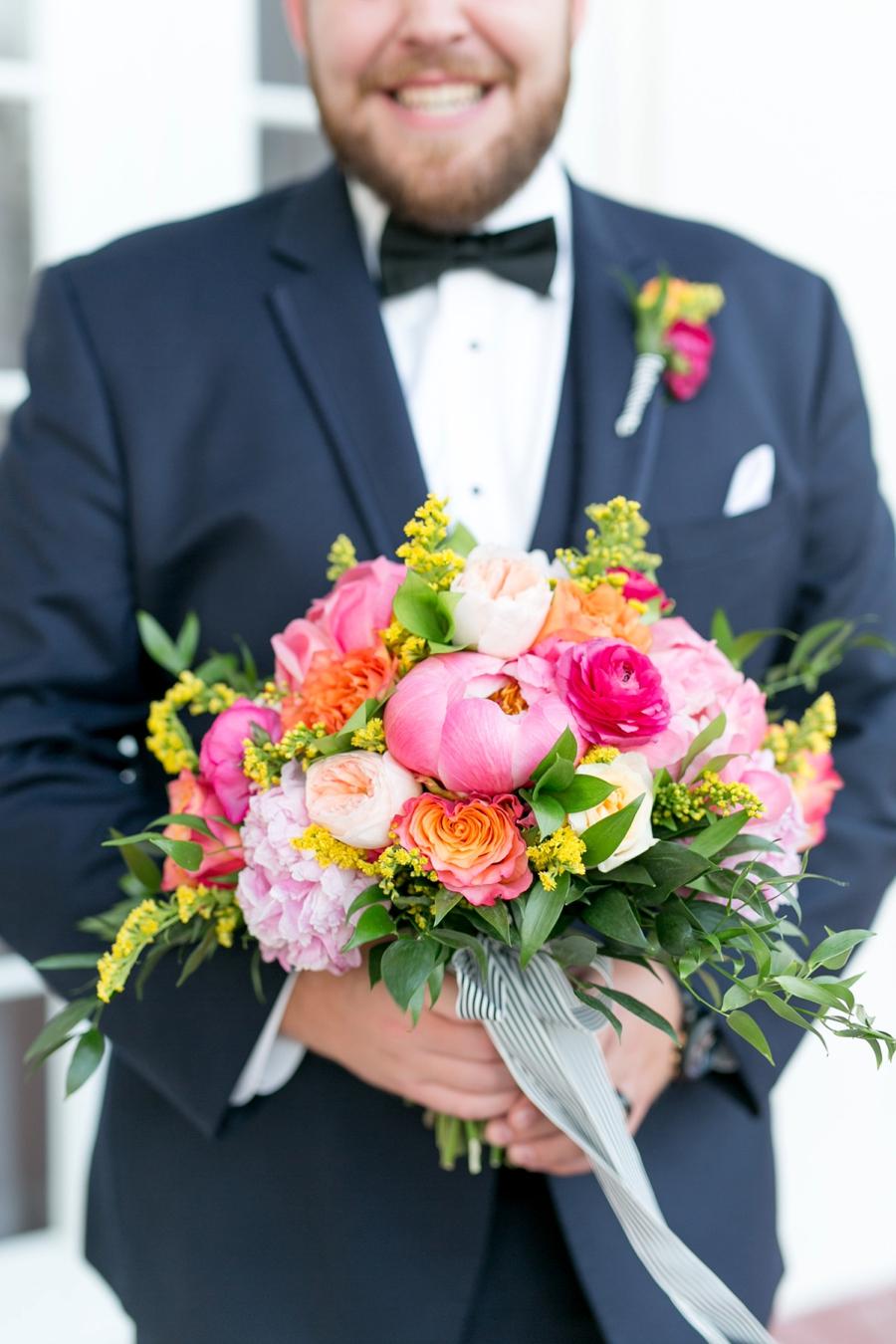 A Colorful & Chic Central Florida Wedding via TheELD.com