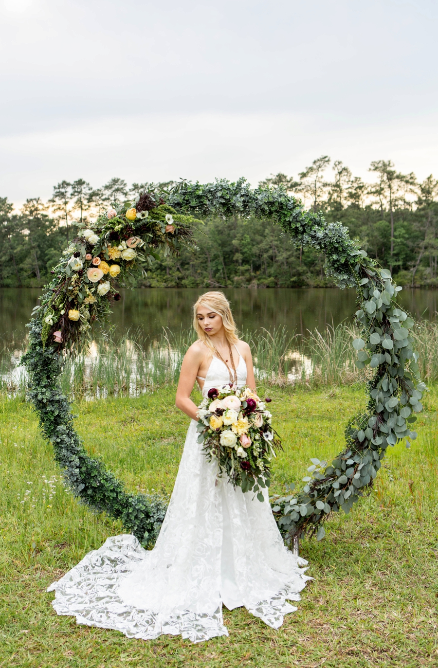 Boho Glam Wedding Ideas via TheELD.com
