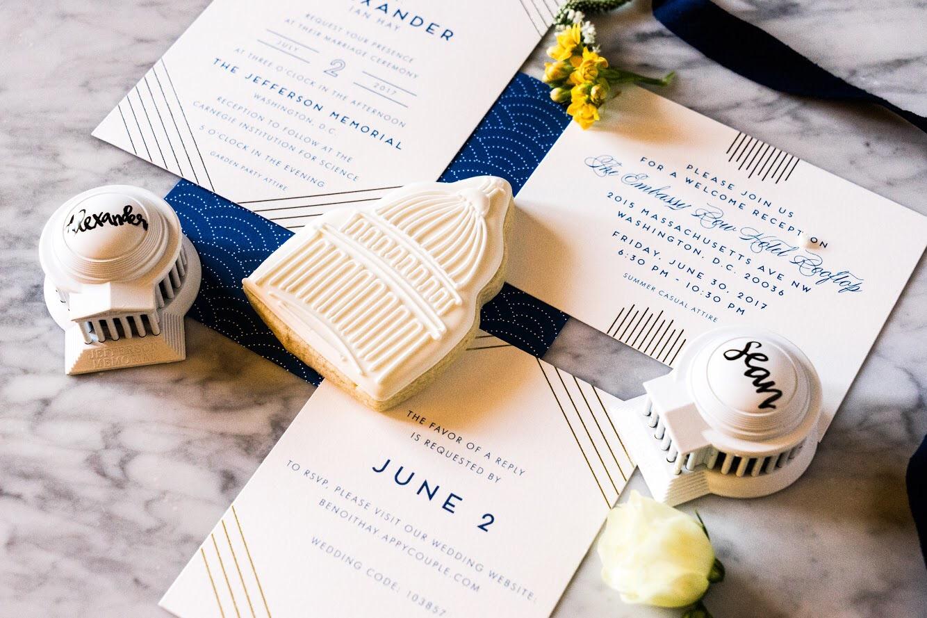 4th of July Wedding Ideas via TheELD.com