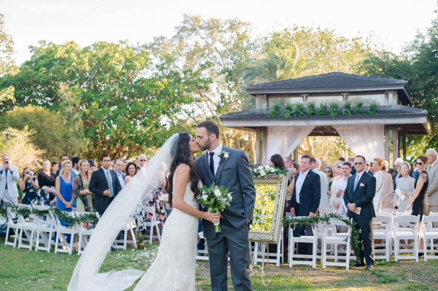 An Elegant Sarasota Garden Wedding via TheELD.com