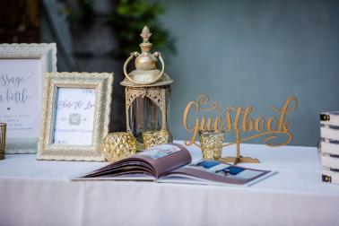 Romantic Blush Franciscan Gardens Wedding via TheELD.com