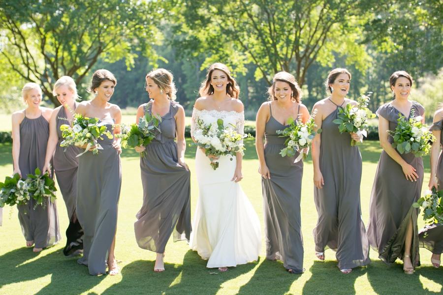 Southern Green & White Alabama Wedding via TheELD.com