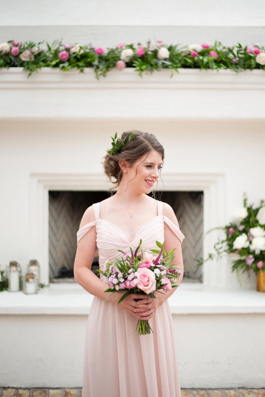 Pink & Gold New Orleans Wedding Ideas via TheELD.com