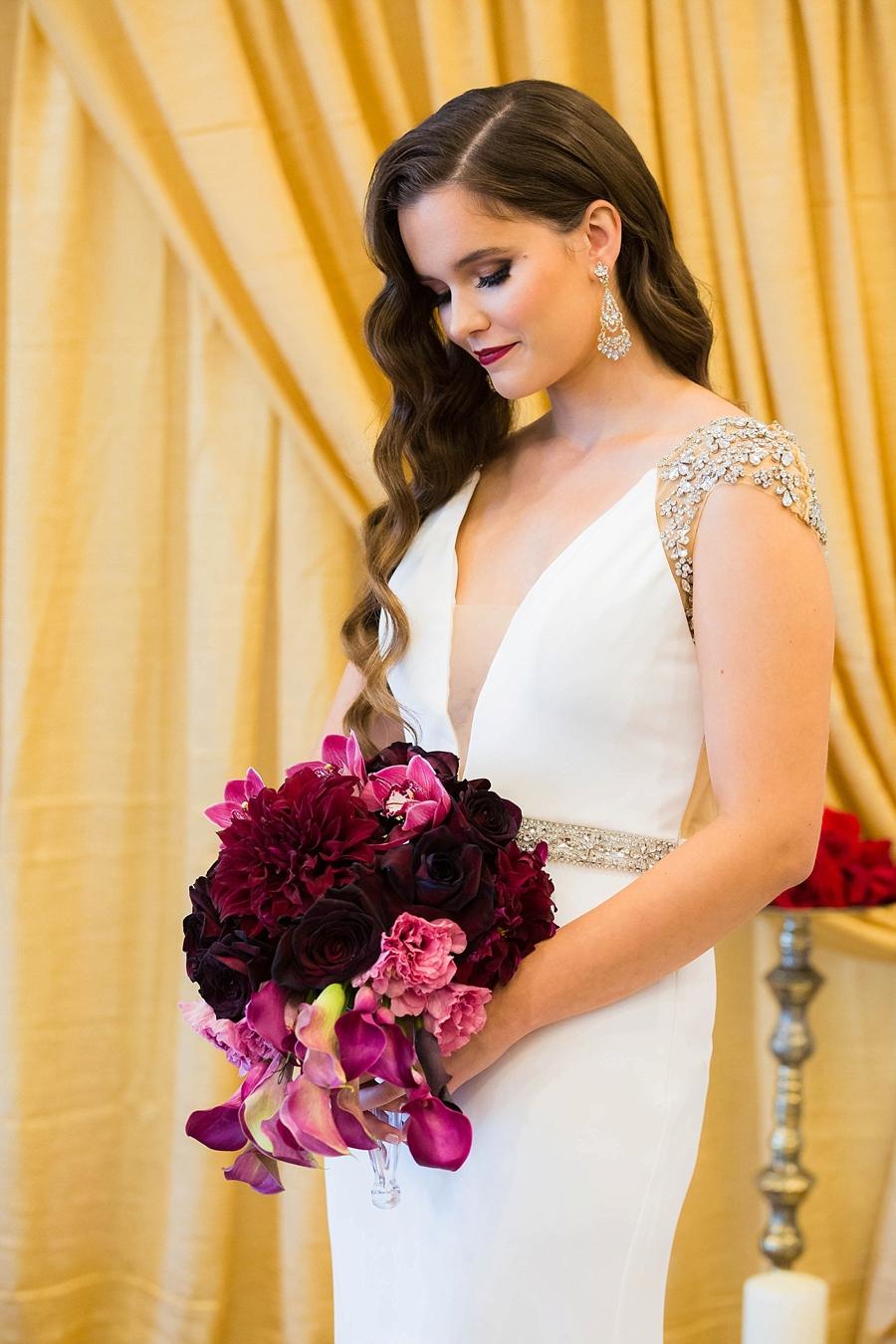 Pink & Merlot Luxe Wedding Ideas via TheELD.com