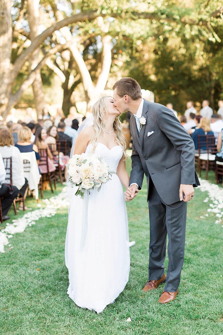 A Romantic Soft Blue Temecula Wedding via TheELD.com