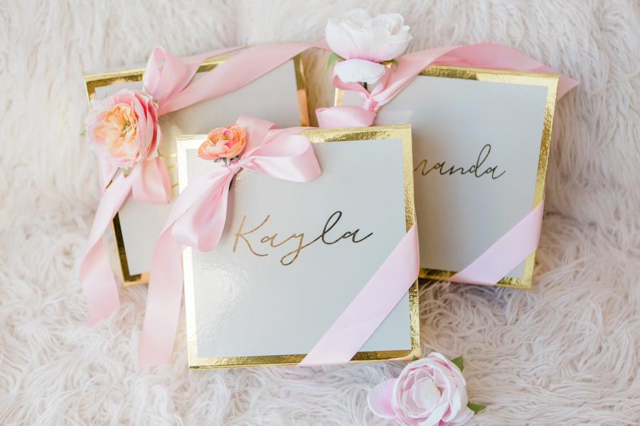 A Bridesmaid Shower Full of Bridesmaid Gift Ideas via TheELD.com