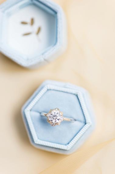 Soft & Elegant Ballet Inspired Wedding Ideas via TheELD.com