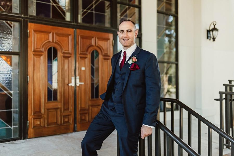 An Elegant Blush & Red Sarasota Wedding via TheELD.com
