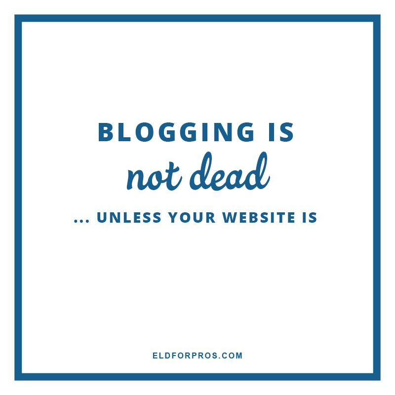 Engagement Season Prep: Blogging & Submitting via TheELD.com