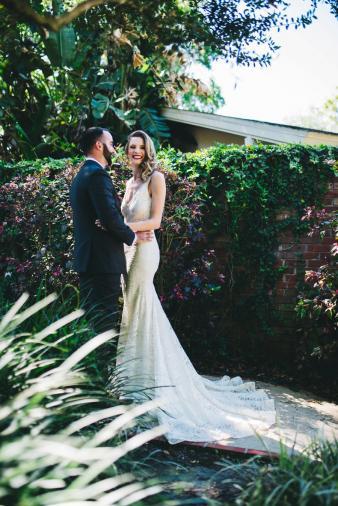 Modern Copper & Green Wedding Ideas via TheELD.com