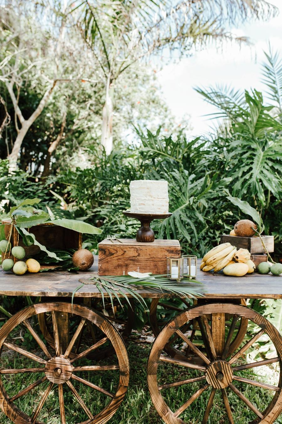 Tropical Bali Inspired Wedding Ideas via TheELD.com