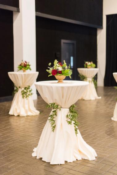 An Elegant Burgundy North Carolina Wedding via TheELD.com