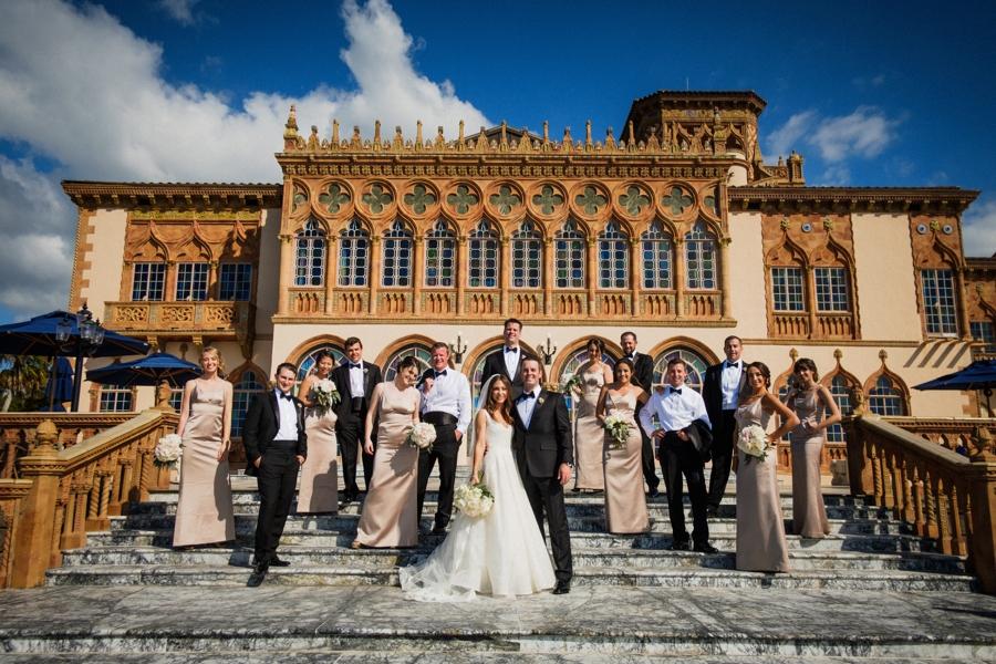 An Elegant Garden Sarasota Wedding via TheELD.com