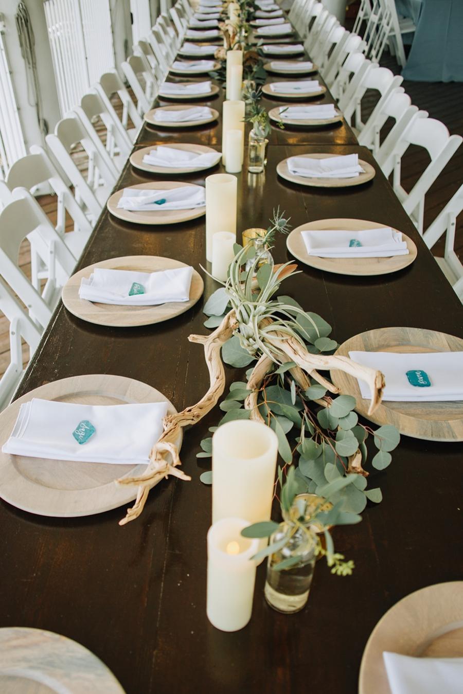 Organic Coastal Inspired Clearwater Beach Wedding via TheELD.com