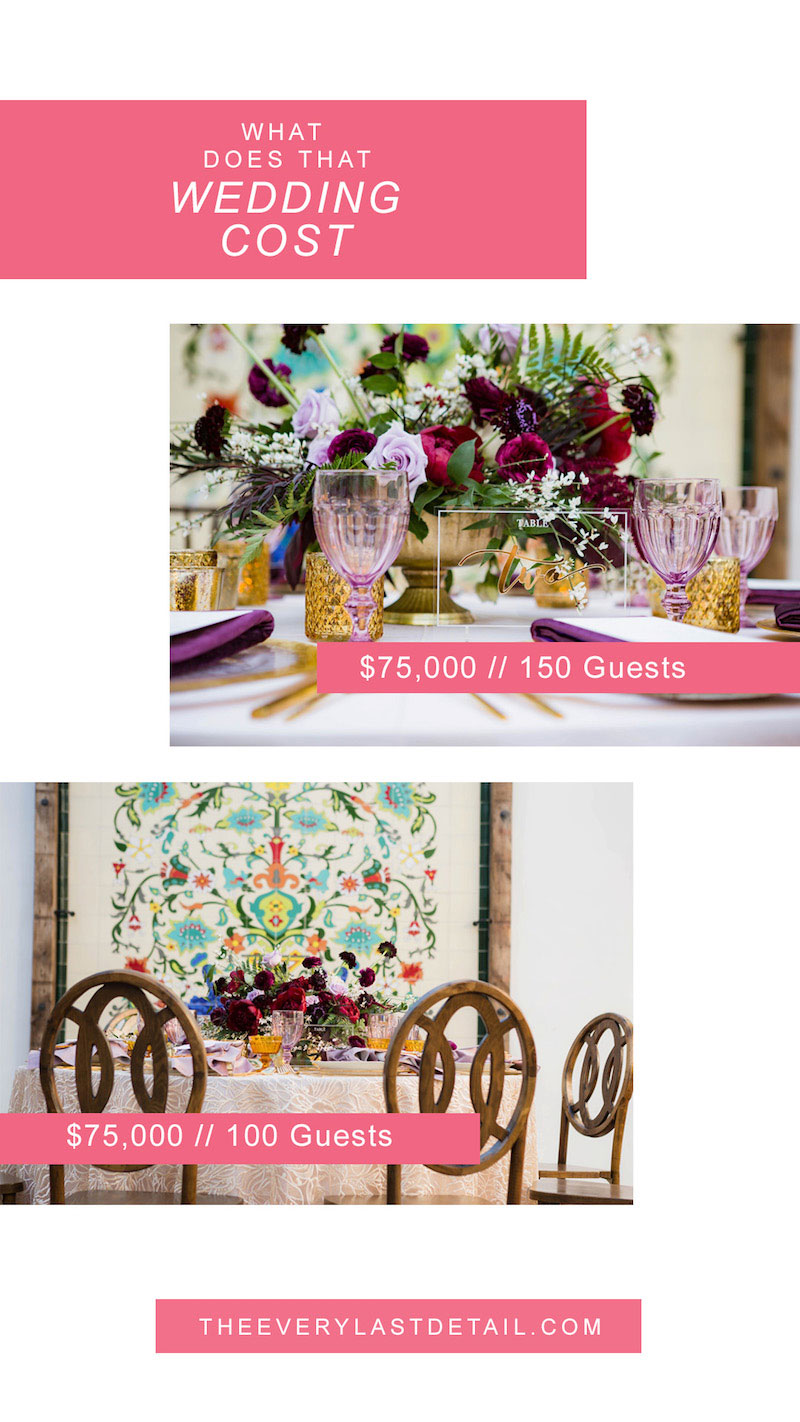 What Does That Wedding Cost   Southern California Wedding via TheELD.com