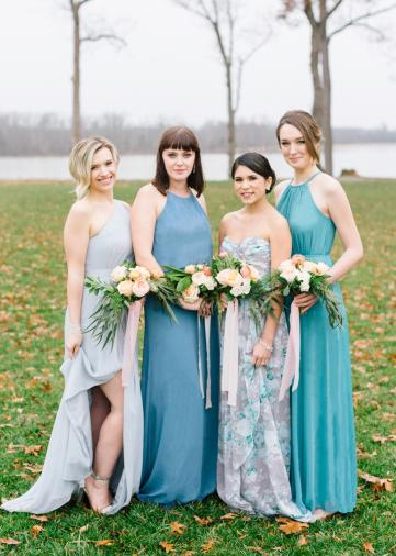 Inspiration & Ideas For Getting Ready On Your Wedding Day via TheELD.com
