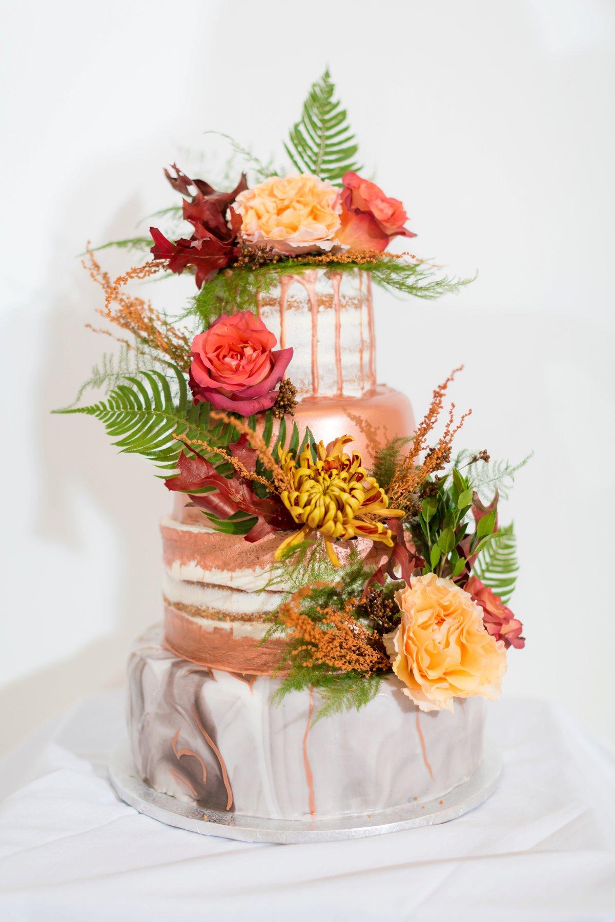 A Colorful Fall New Jersey Wedding via TheELD.com