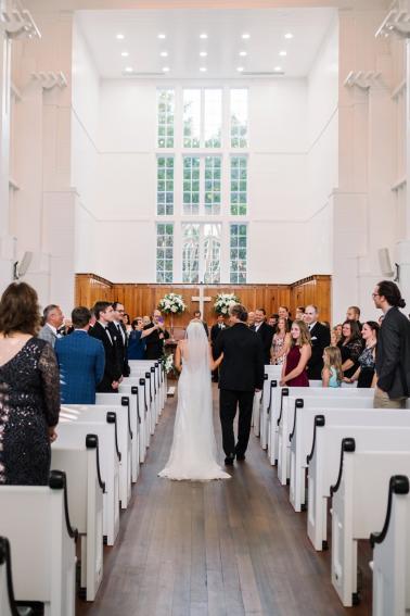 An Elegant Seaside Wedding via TheELD.com
