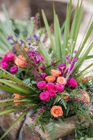 A Country Chic Boho Wedding via TheELD.com