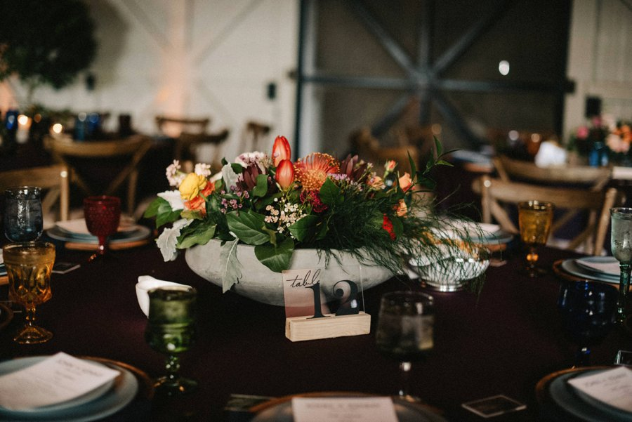 An Eclectic & Colorful Winter Park Wedding via TheELD.com