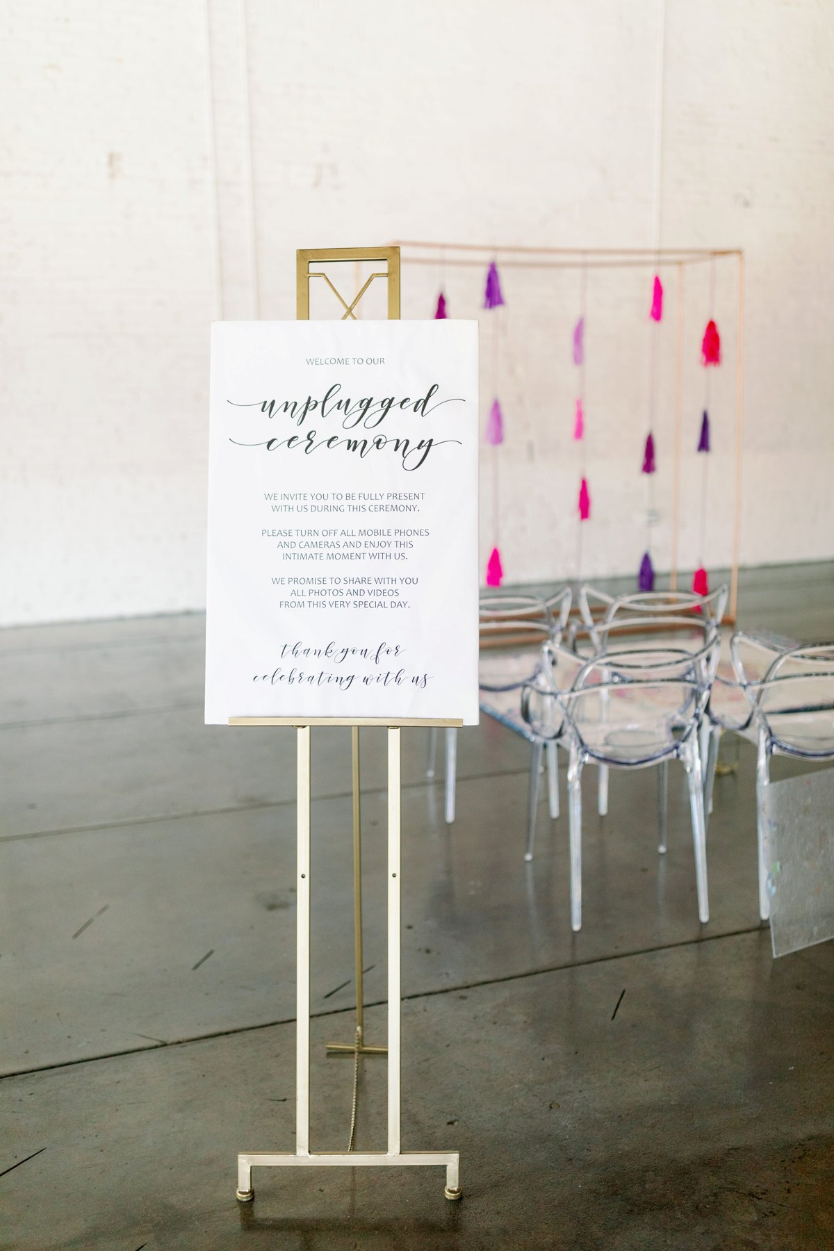Colorful Stained Glass Inspired Wedding Design via TheELD.com