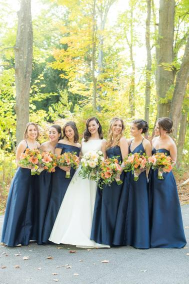 An Autumn Inspired New York Wedding via TheELD.com