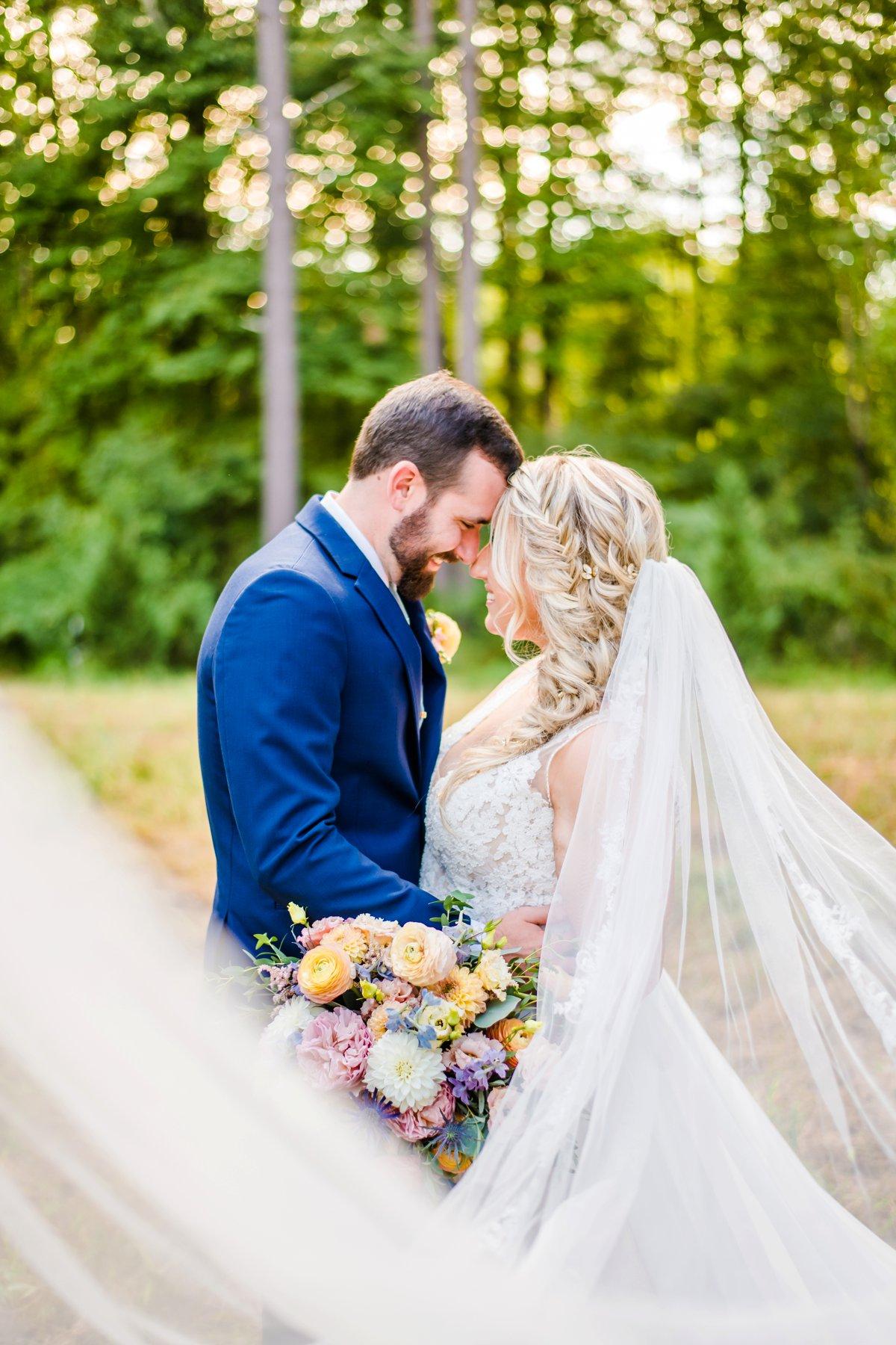 A Colorful Outdoor North Carolina Wedding via TheELD.com