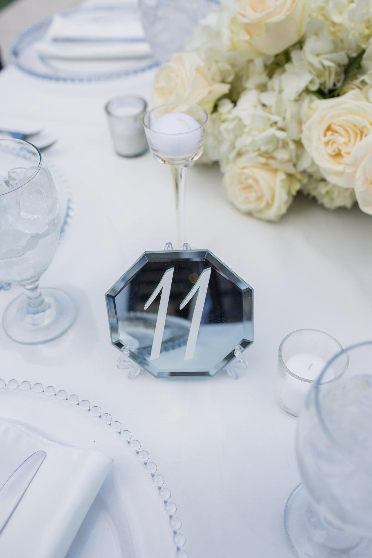 An All White Modern & Elegant Los Angeles Wedding via TheELD.com