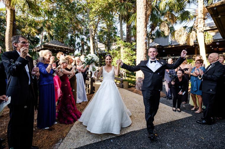 Classic Blush Ringling Wedding via TheELD.com