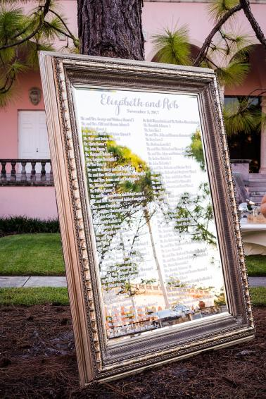 Classic Blush Ringling Wedding via TheELD.com