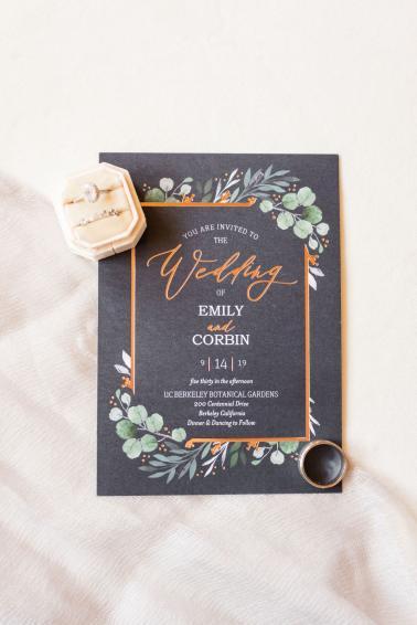 An Intimate Boho Botanical Garden Wedding via TheELD.com
